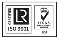 Certificado UKAS ISO 9001